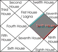 tenth house in hindi