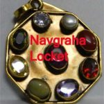 Navagraha Pendant in brass
