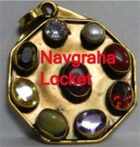 Navagraha Pendant in brass